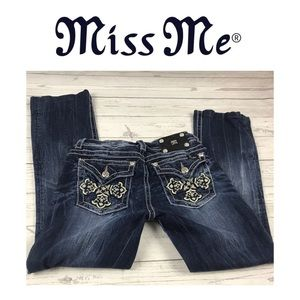 Miss Me Designer Boot Cut Jeans. Sz 29